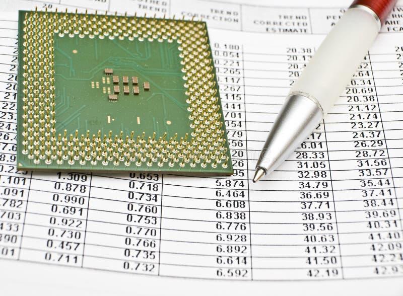 Planung und Voraussage lizenzfreies stockfoto