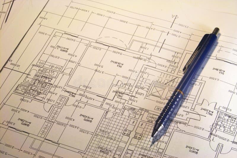 plany architektoniczne plany zdjęcia royalty free