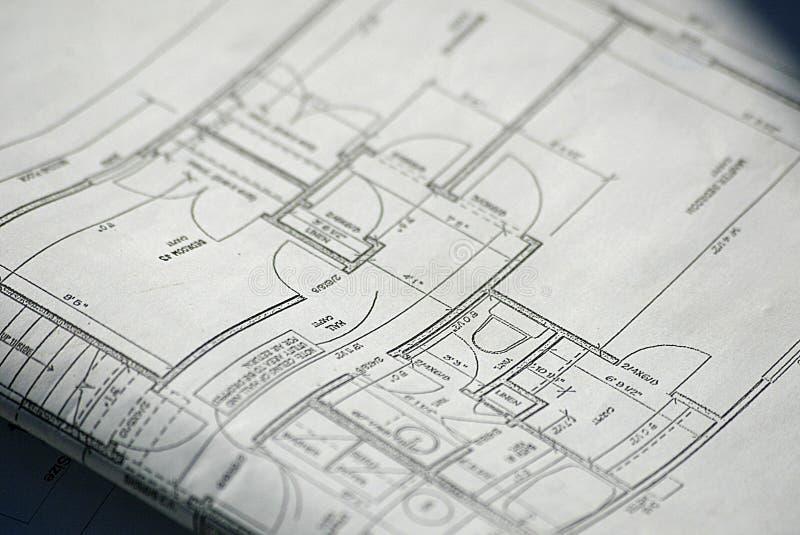 plany domów obraz royalty free