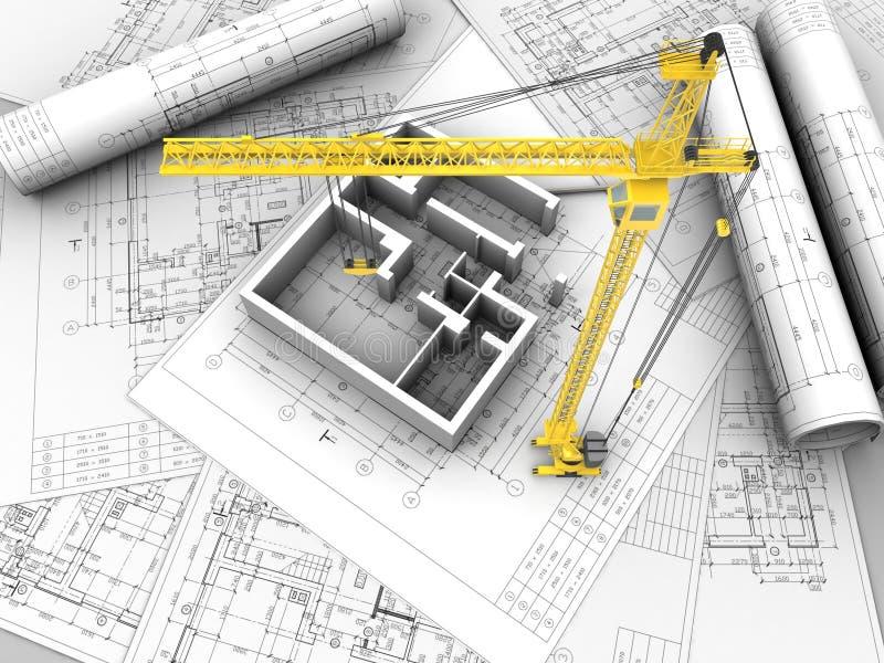 Planzeichnung vektor abbildung