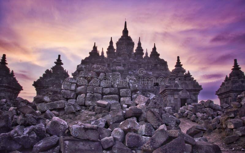 Plaosan świątynia zdjęcie stock