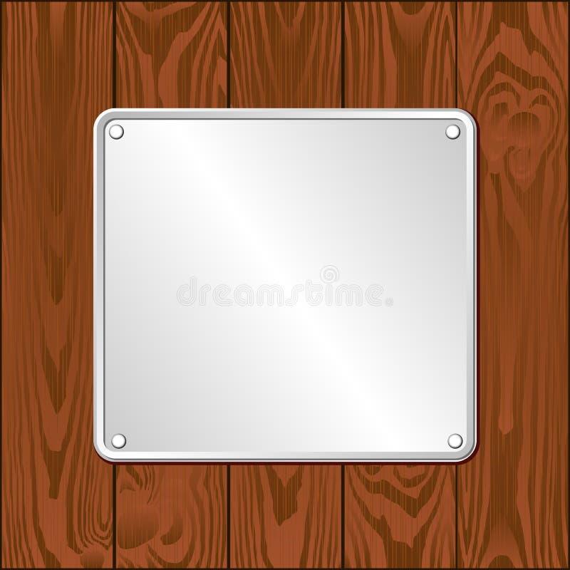plaque иллюстрация вектора