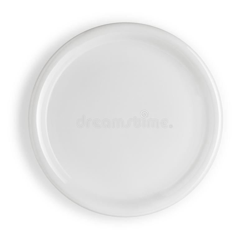 Plaque blanche photos stock