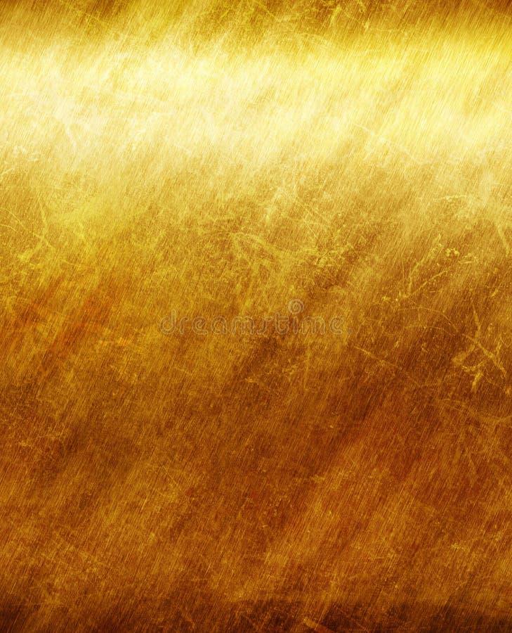 Plaque d'or illustration de vecteur