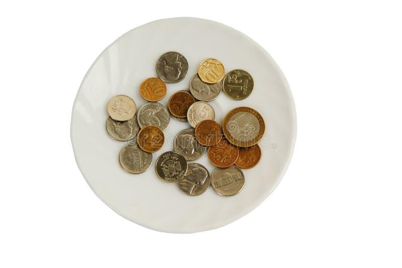 Plaque d'argent images libres de droits