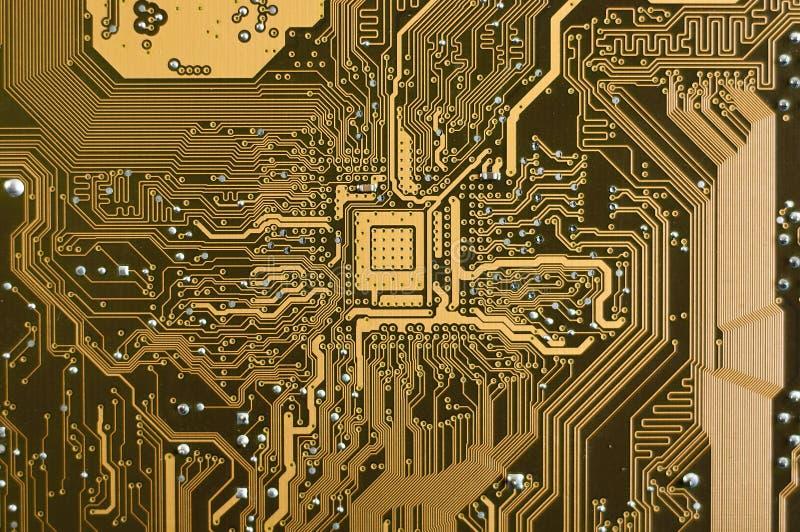 Plaque de circuit électronique photo libre de droits