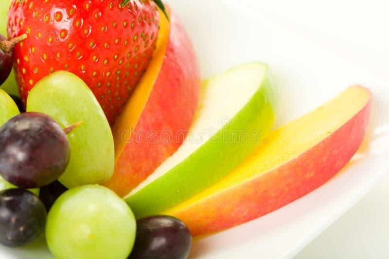 Plaque de fruit photos libres de droits