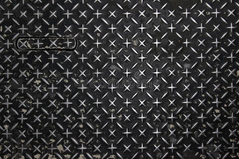 Plaque de métal de Dimond illustration de vecteur