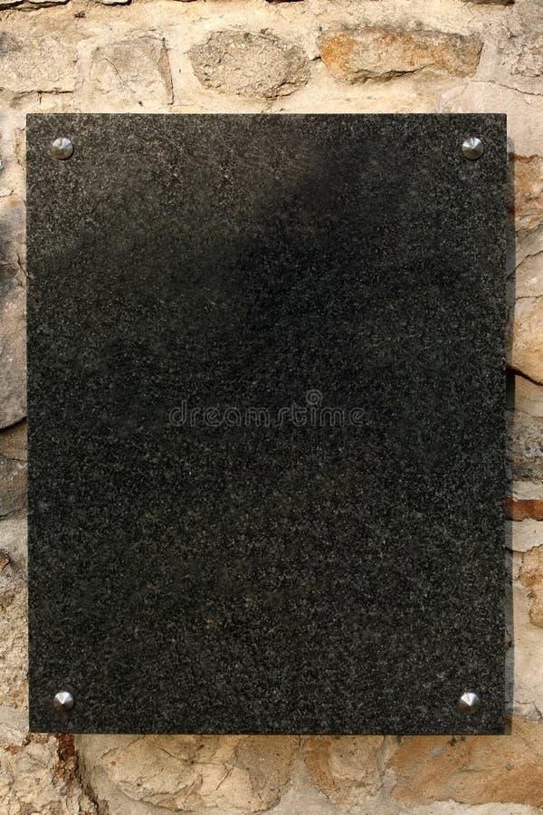 Plaque de marbre image stock