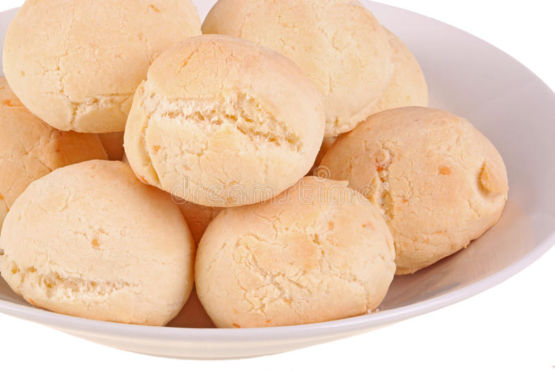 Plaque de pan de yuca, le pain de fromage d'Ecuadoruan photo stock