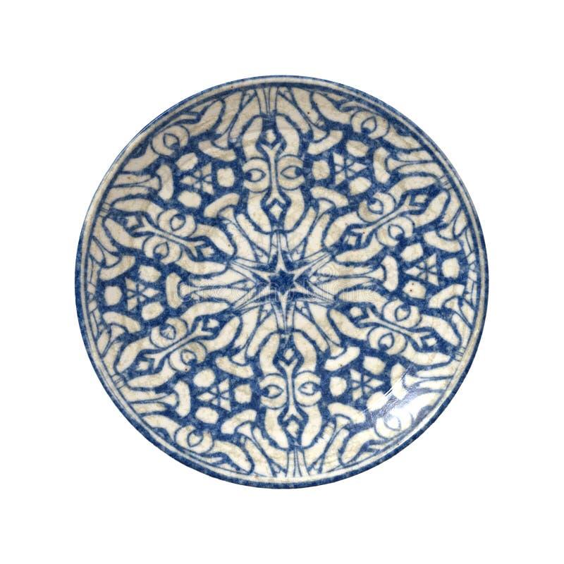 Plaque de poterie illustration stock