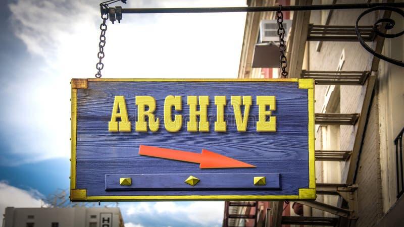 Plaque de rue d'archiver photos stock