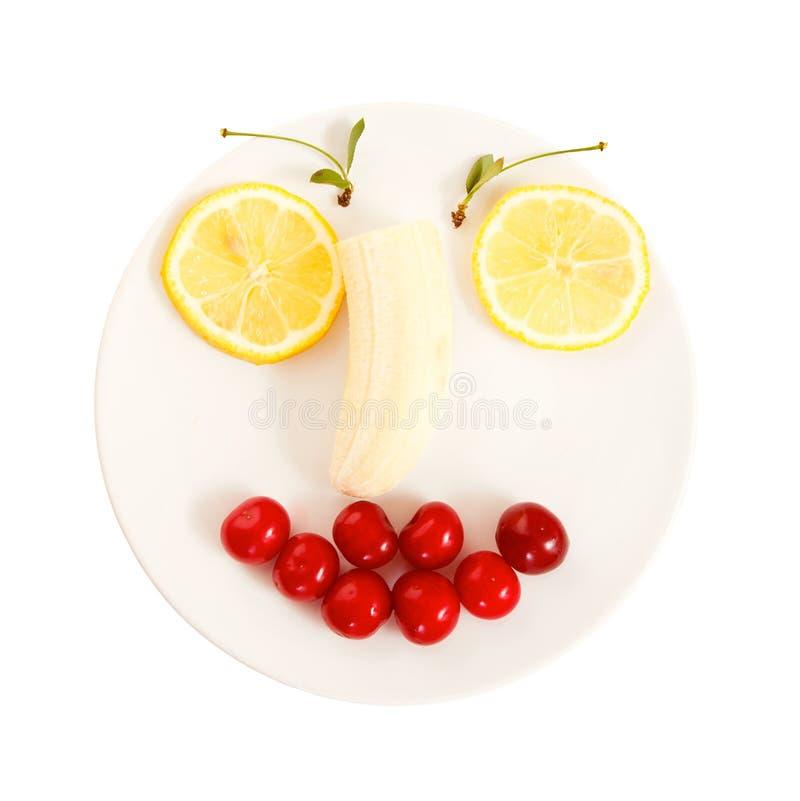 Plaque de sourire image libre de droits