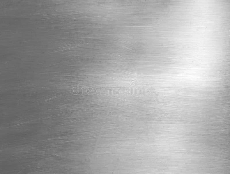 plaque en acier balayée photo libre de droits