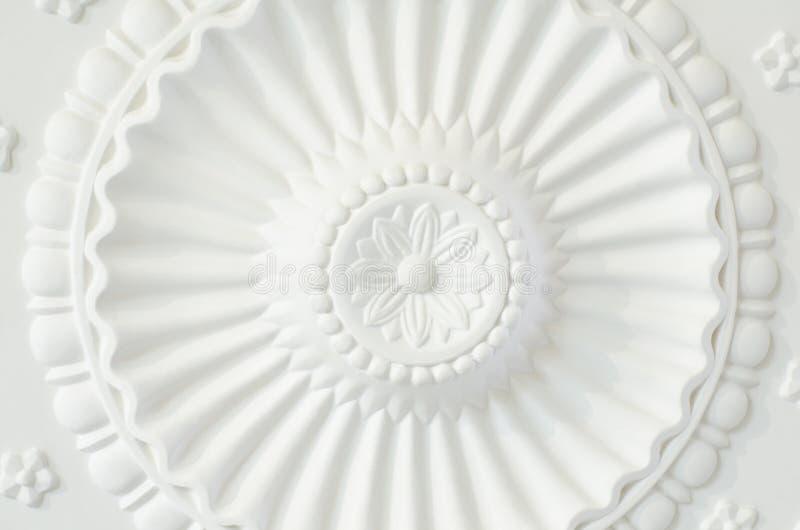 Plaque ronde de plafond photographie stock libre de droits