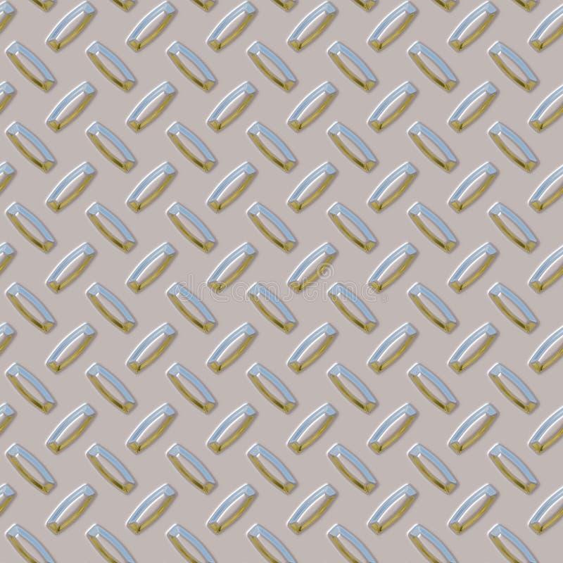 Plaque sans joint de diamant photo stock