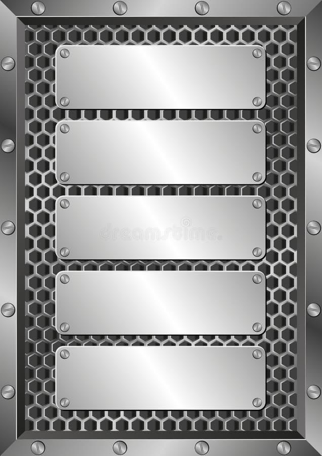 plaques иллюстрация вектора