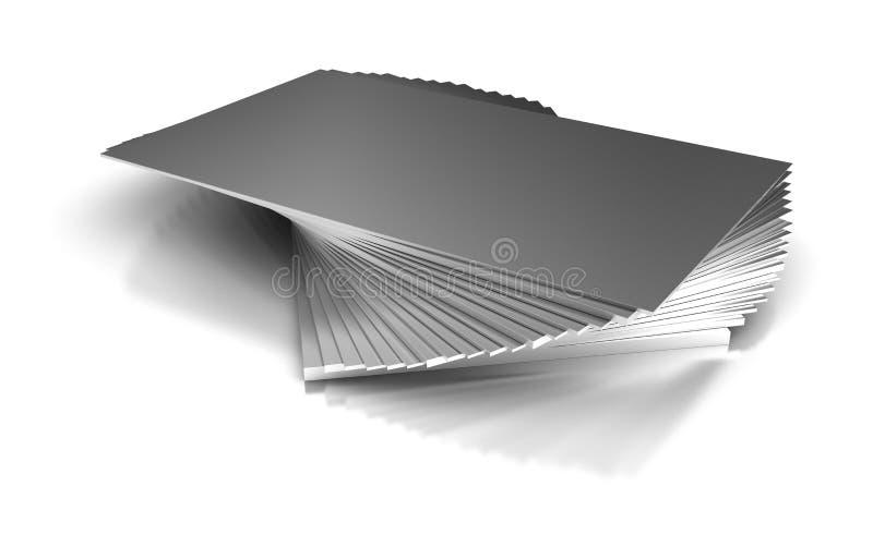 Plaques de métal industrielles illustration libre de droits