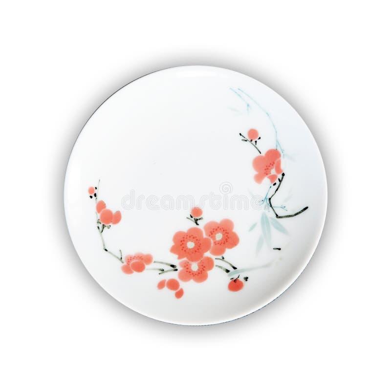 Plaques de porcelaine photos stock