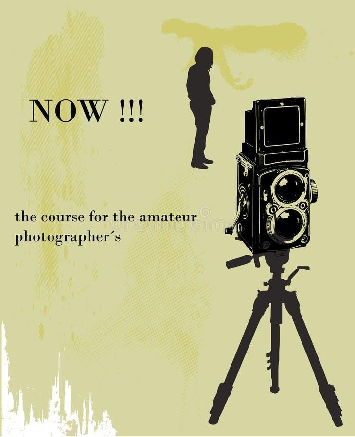 Plaquette, photographes illustration libre de droits