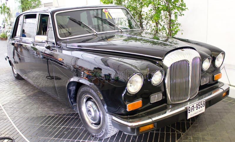 Plas серии III Vanden Daimler властительские 4200 cc на дисплее. стоковое изображение