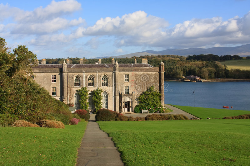 Plas Newydd. Autumn at Plas Newydd a National Trust Property on the Isle of Anglesey stock photography