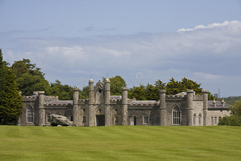Plas Newydd. A National trust Property on the banks of the Menay Straits royalty free stock images