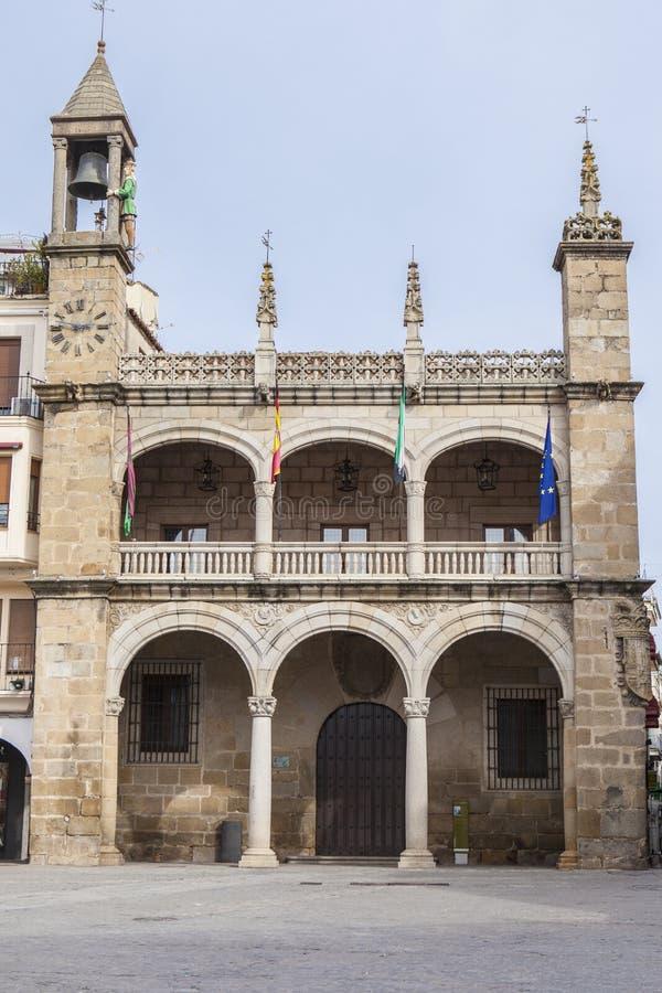 Plasencia Δημαρχείο οικοδόμηση, Ισπανία στοκ φωτογραφίες με δικαίωμα ελεύθερης χρήσης