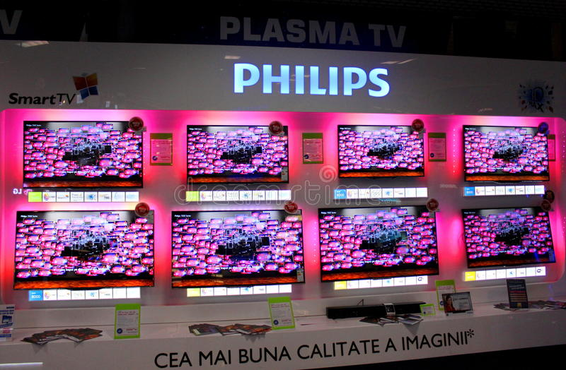 Plasma Di Philips Fotografia Editoriale