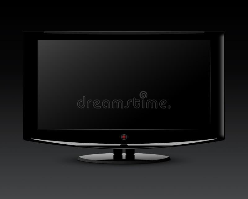 Plasma Fernsehapparat lizenzfreies stockbild