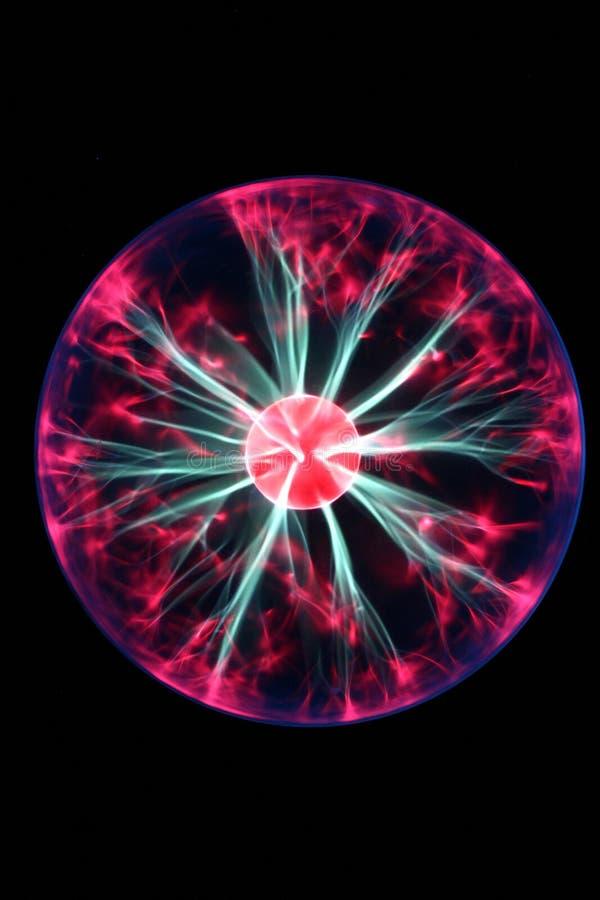 Plasma-Kugel stockfoto