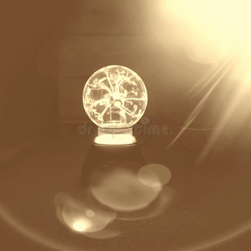Plasma léger photographie stock
