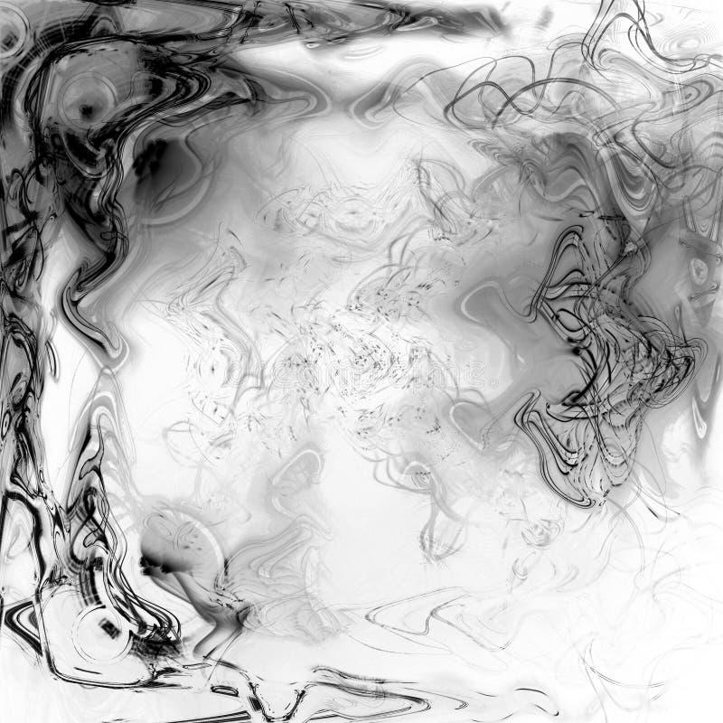 Plasma líquida ilustración del vector