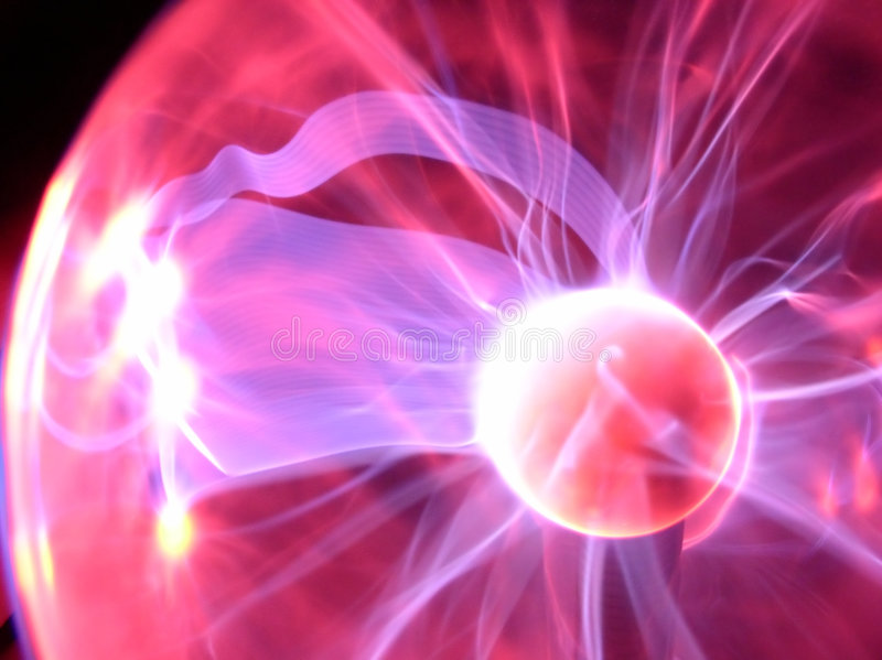 Plasma lamp #01 royalty free stock image