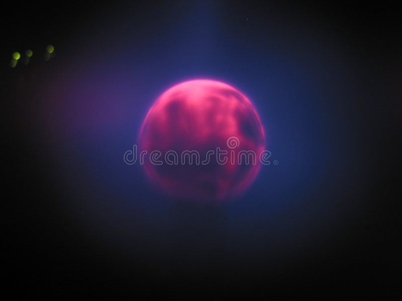 Plasma lamp 6 royalty free stock photos