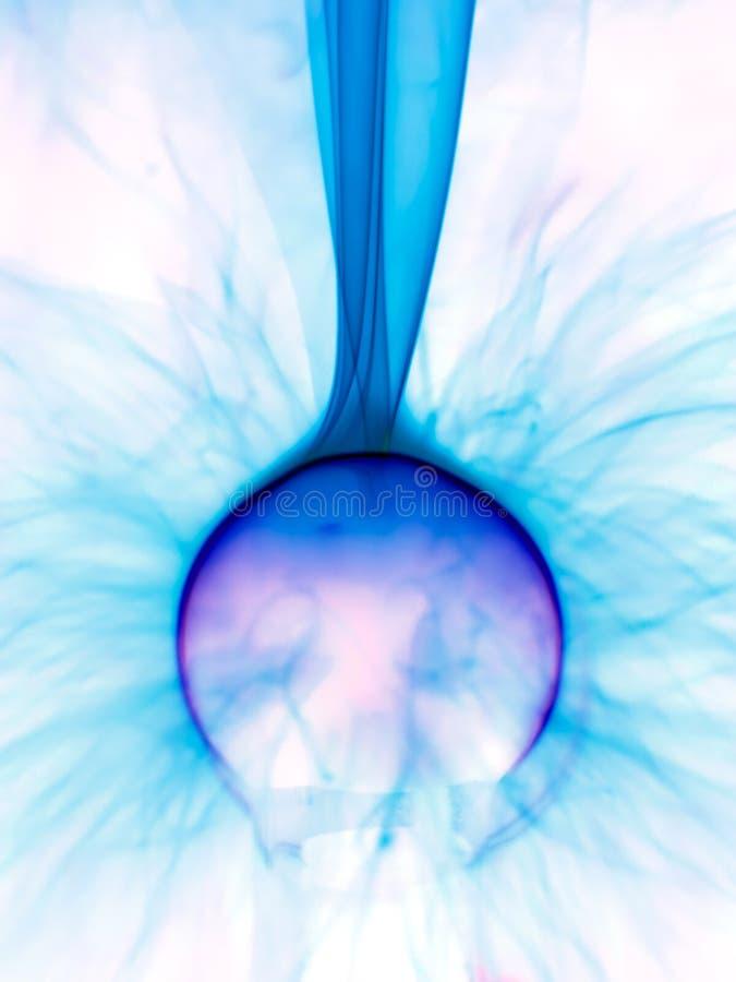 Plasma lamp close up stock image