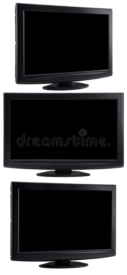 Download Plasma LCD TV stock image. Image of resolution, multimedia - 15388907