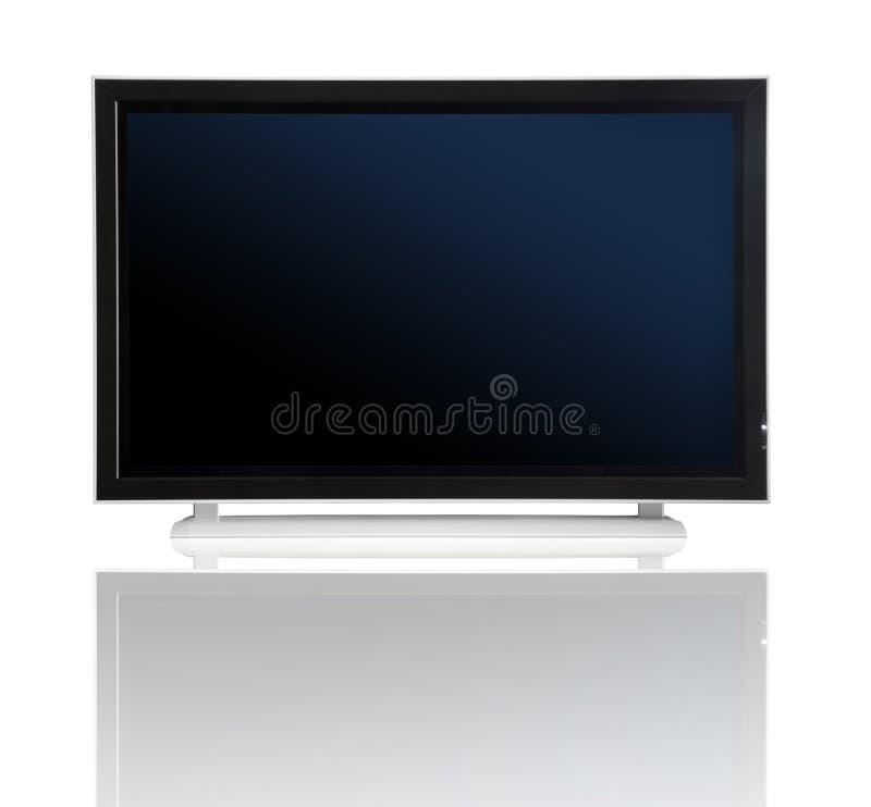 Plasma lcd TV fotos de archivo libres de regalías
