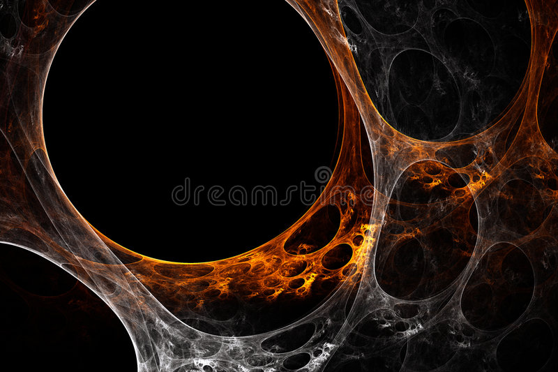 Plasma rendering stock illustration