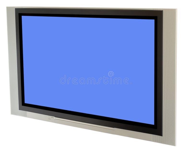 Plasma TV fotografia stock