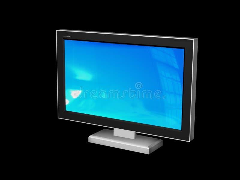 Plasma TV illustrazione di stock