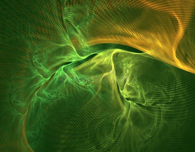 Plasma verde ilustración del vector