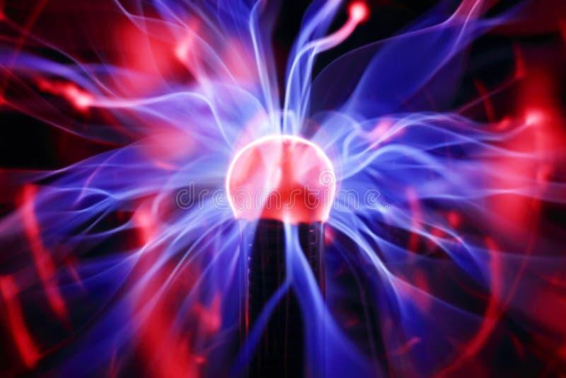 Plasmaballenergie stockbilder