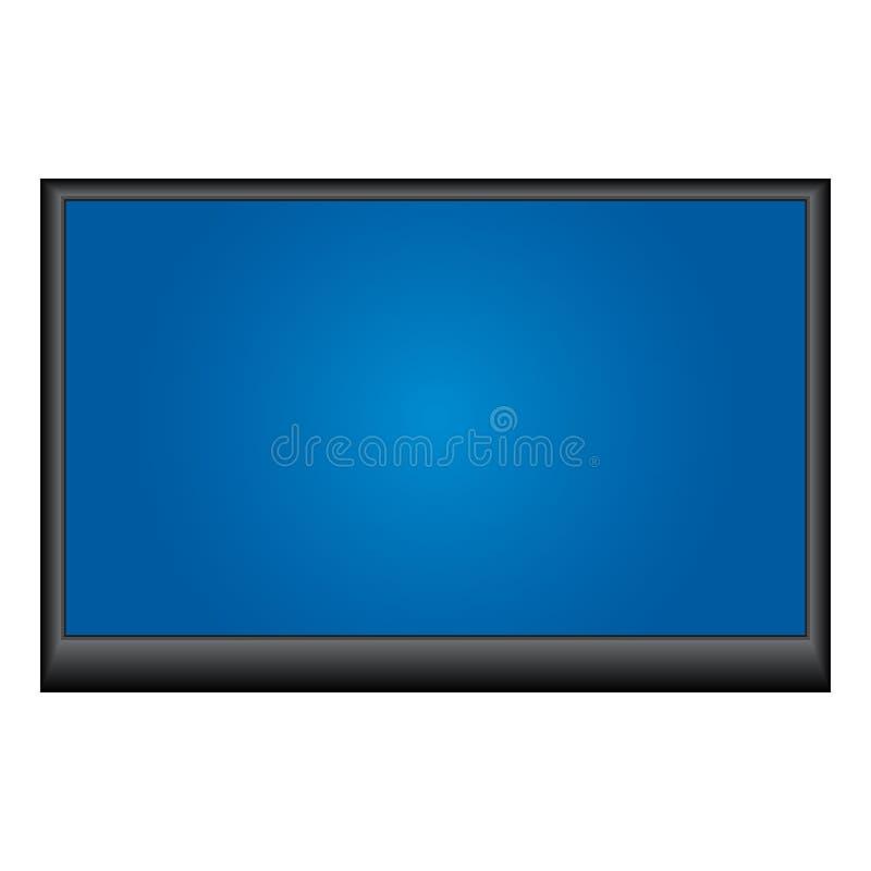 Plasmafernsehapparat stock abbildung