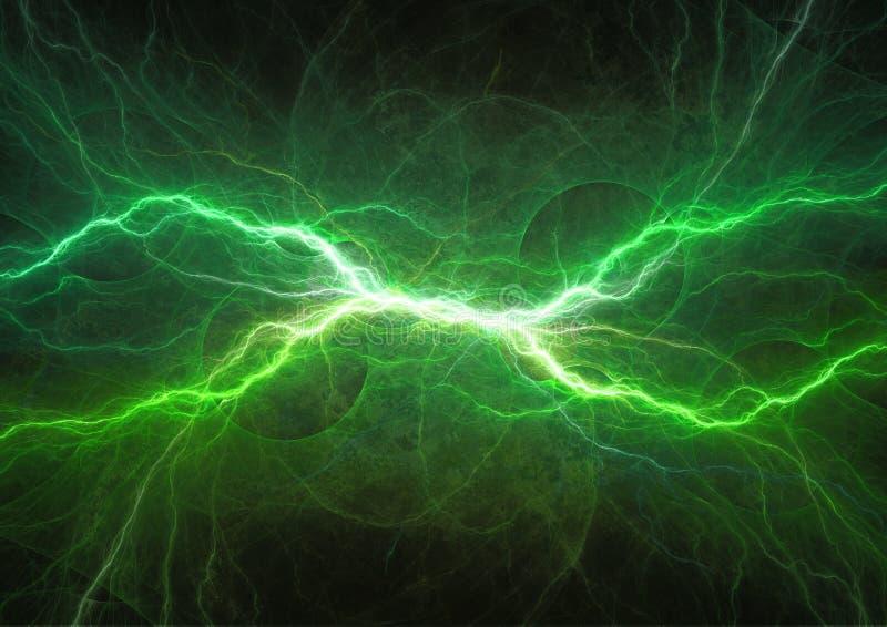 Plasmamaktelektricitet royaltyfri illustrationer