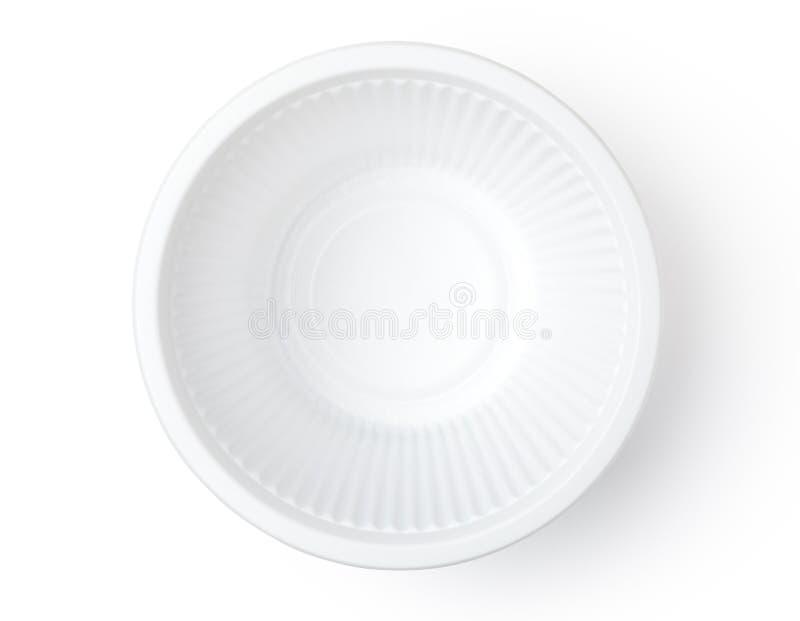 Plast- bunke royaltyfri foto