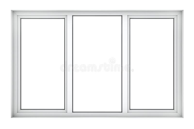 Plast- fönsterram arkivfoton