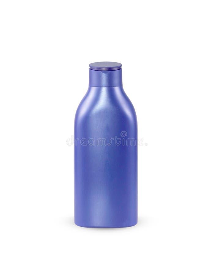 Plast- flaskpump av Gel, vätsketvål, lotion, kräm, schampo royaltyfri foto