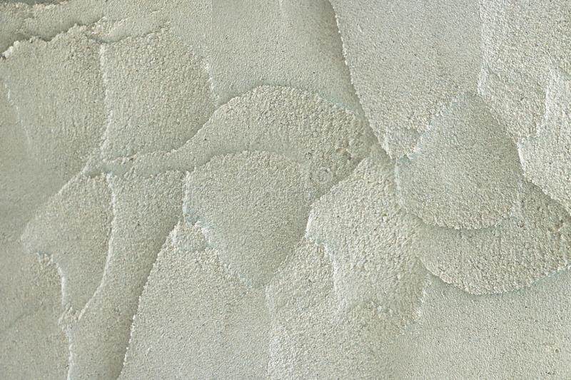 Plaste concrete texture on wall. Construction background royalty free stock photography