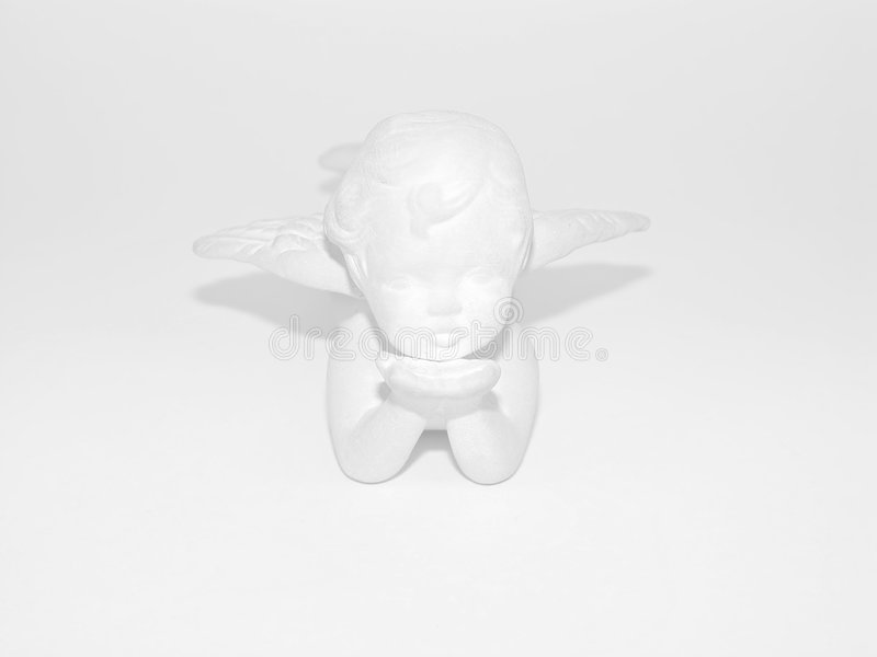 Plaster Angel royalty free stock photography